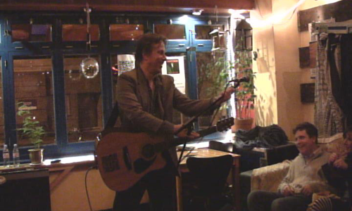 Andrew Shearer @ Global Cafe 2011