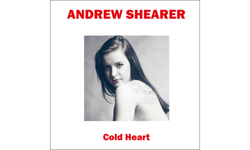 Cold Heart Andrew Shearer; cover star: Emilia Maria Zbuka